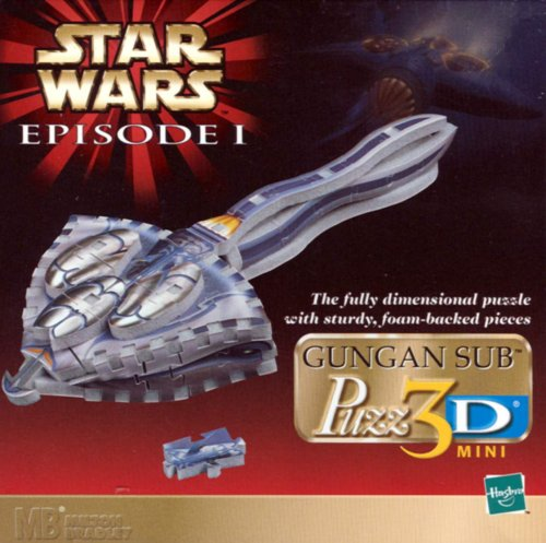 Star Wars Episode 1: Gungan Sub 3-D Mini Puzzle - 1