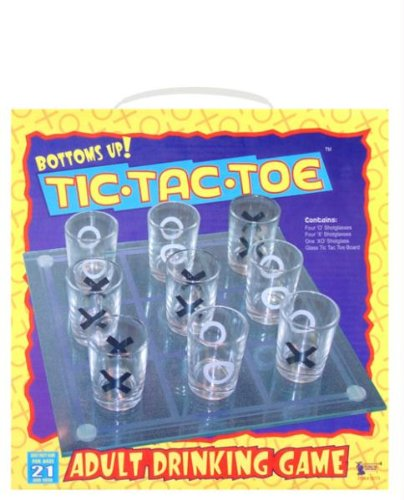 Bottoms Up Tic - Tac - Toe Game