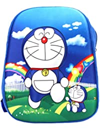 Cute Doraemon Cartoon Printed Blue Color Kids 3D Backpack School Bag For Girls & Boys