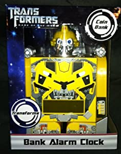 Transformers - Bumblebee Transforming Bank Alarm Clock by Hasbro