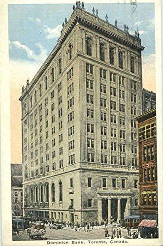 dominion-bank-toronto-ontario-canada-original-vintage-postcard