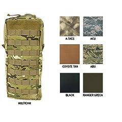 Tactical Assault Gear MOLLE Hydration 100oz Bladder Carrier, Large, ABU 814978 by Tactical Assault Gear