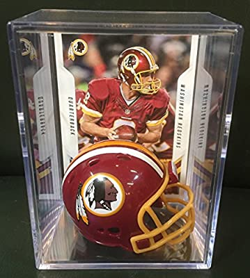 Washington Redskins NFL Helmet Shadowbox w/ Kirk Cousins card