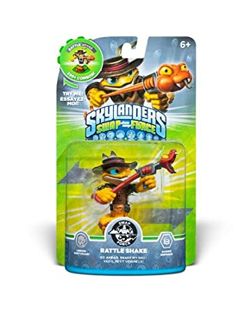 Skylanders SWAP Force Character Rattle Shake