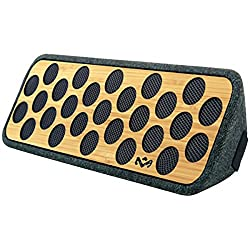 House of Marley Liberate Bluetooth Speakers (Bamboo) EM-JA005-BM