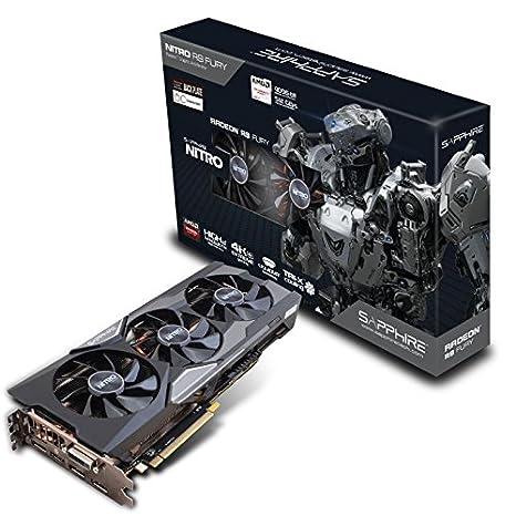 Sapphire 11247-04-40G Carte graphique ATI R9 Fury 1020 MHz 4 Go PCI Express