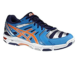 ASICS Gel-Beyond 2 Hallenschuhe Herren, Blau/Orange, 47
