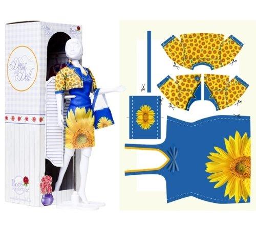 1-Modepuppen-1-ein-Kleid-nhen-Schneiden--Nhen--Fertig--machen-eine-schne-Sammlung-von-Kleidung
