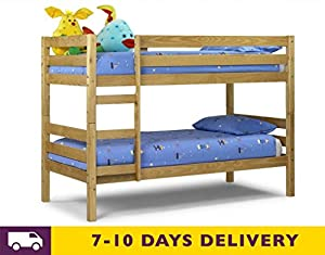 Julian Bowen Wyoming 3ft Solid Pine Bunk Bed