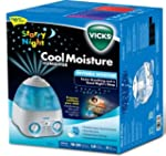 Vicks Starry Night Cool Mist Humidifer
