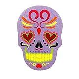 Nail filer Emery Borad Sugar skull Purple personal care makeup Nails