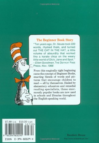 Hop on Pop (I can read it all by myself beginner books)