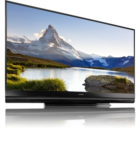 Mitsubishi WD82C12 Home Cinema 82-Inch DLP 1080p Projection TV