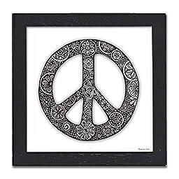 Peace Pen & Ink