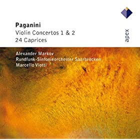 Paganini : 24 Caprices Op.1 : No.22 in F major