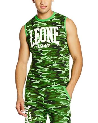 Leone 1947 Camiseta Tirantes Lsm920/S16 Verde