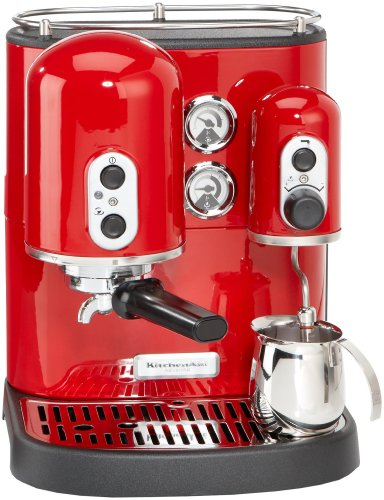Kitchenaid-5KES100EER-Artisan-Cafetire-Espresso-Rouge-Imperial