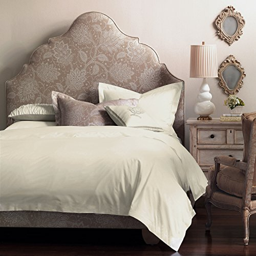 Organic Cotton 340 Thread Count Natural Cal King Duvet Cover (Organic Duvet Insert King compare prices)