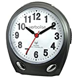 Verbalise Radio Controlled Talking Clock Black
