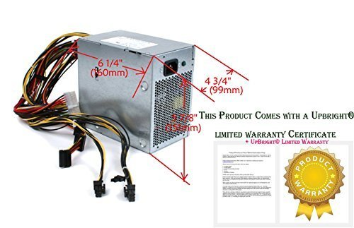Genuine Dell 475W Power Supply PSU For Studio XPS 435 MT / 8000 / 9000 Systems Part Number: F217J, VP-9500073-000 by Dell [並行輸入品]