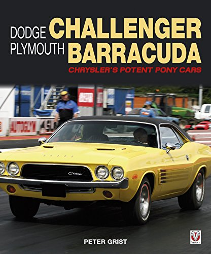 dodge-challenger-plymouth-barracuda-chryslers-potent-pony-cars-english-edition