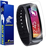 ArmorSuit MilitaryShield - Samsung Gear Fit Screen Protector Anti-Bubble Ultra HD - Extreme Clarity & Touch Responsive Shield with Lifetime Free Replacements - Retail Packaging