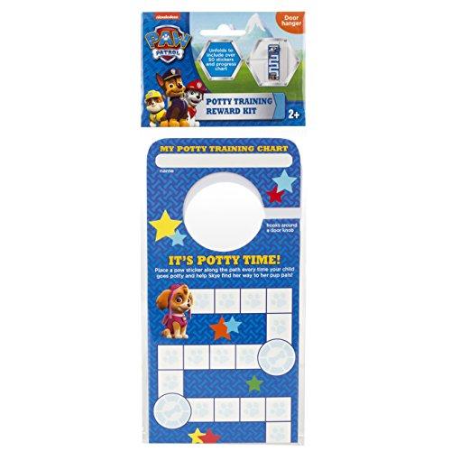 Nickelodeon Door Hang Version Paw Patrol Potty Rewards Kit (Paw Patrol Potty Chart compare prices)