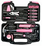 Apollo Precision Tools Dt9706p 39-piece Pink General Tool Set from Apollo