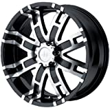 """Helo HE835 Gloss Black Wheel With Machined Face (20x9""""/6x139.7mm, +18mm offset)"""