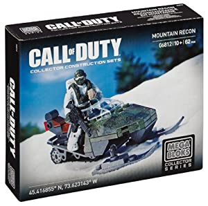 Mega Bloks Call of Duty Mountain Recon Collector Construction Set
