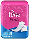 Poise Pads Ultimate Absorbency, 36-Count Packages (Pack of 4)