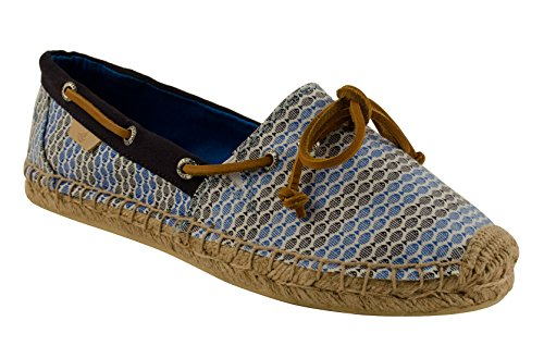 Sperry top sider women 39 s katama prints boat shoe blue for Best boat shoes for fishing