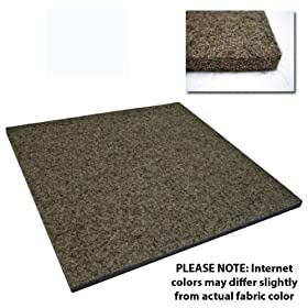 "Heavy Duty/Industrial Felt (F26-12"" x 12"" Square without Adhesive), 3/8 in"