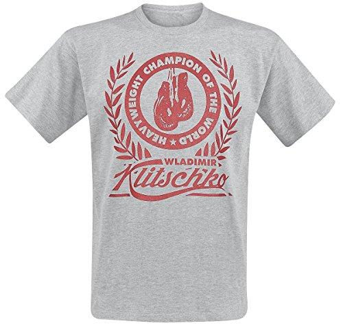Klitschko Wladimir Klitschko - Wreath T-Shirt grigio sport S