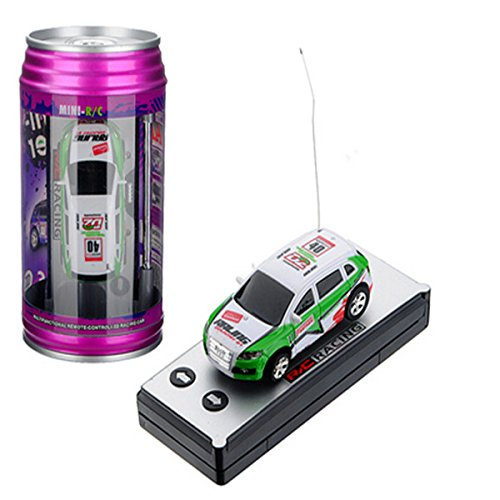 REALACC Wltoys Mini Fahrzeug Car Auto Coke Can mini RC Car 2015-1A 1:63 Remote Control Fahrzeug Auto Random