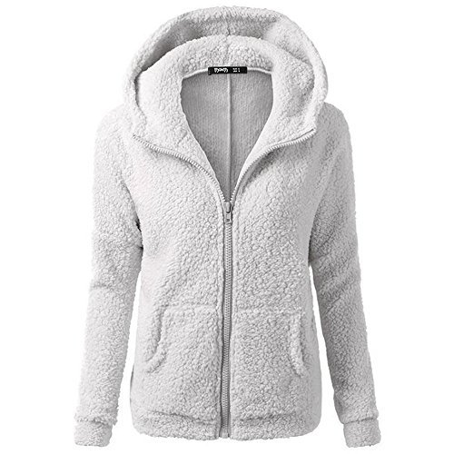 smartland-womens-winter-long-sleeve-full-zip-soft-fleece-hooded-jumper-hoody-jacket-coat-xxl-lightgr