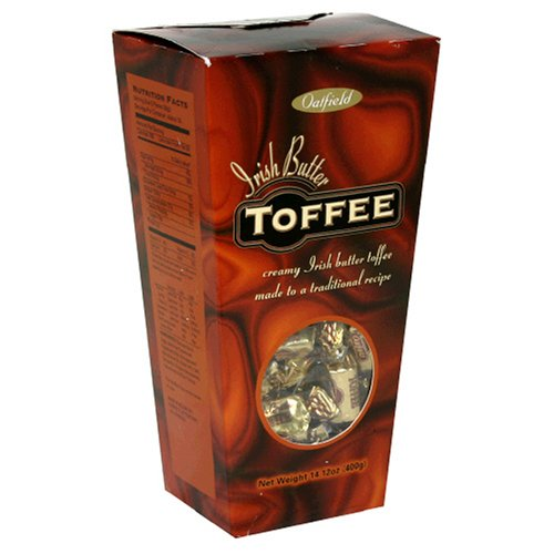 Buy Oatfield Irish Butter Toffee, 14.1-Ounce Unit (Pack of 5) (Oatfield, Health & Personal Care, Products, Food & Snacks, Snacks Cookies & Candy, Candy, Toffee)