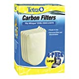Tetra 26333 Whisper EX Carbon Filter, Large/4-Pack