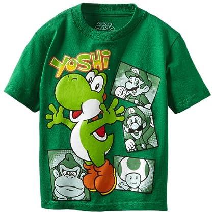 Nintendo Boys 2-7 Yoshi and Group Short Sleeve Tee coupon codes 2015