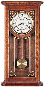bulova cirrus wall chime clock home kitchen