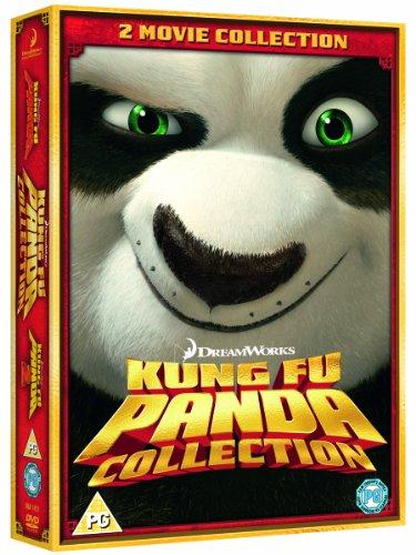 Kung Fu Panda 1 and 2 [DVD]
