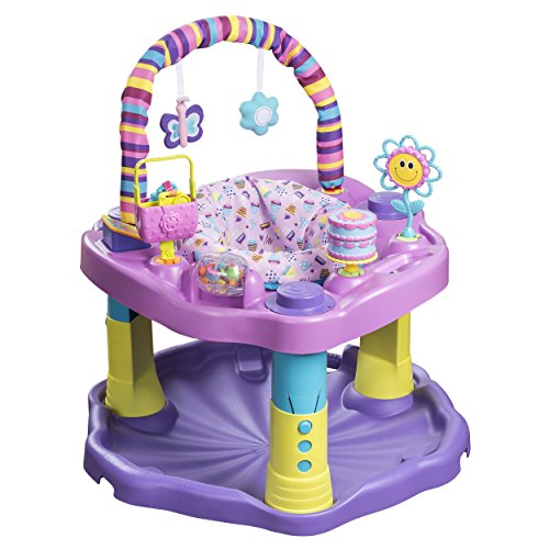 Discover Bargain Evenflo Exersaucer Bounce and Learn Sweet Tea, Party