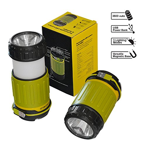 Ultra-Bright-Rechargeable-Camping-Hanging-Led-Lantern-Flashlight-Combo-for-Campers-Tents-Outdoor-Portable-Collapsible-Emergency-Blackout-Lights-Hurricane-Lamp-w-3600-mAh-Power-Bank