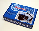 Sonic SuperEar Plus SE7500 Personal Sound Amplifier With Case Headphones and Discreet Earbuds