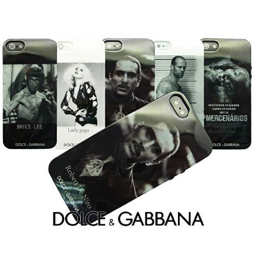 【DOLCE&GABBANA】 ドルチェ・アンド・ガッバーナ ピクチャーデザインVr2 セミハードシリコン iPhone5/5S ケース 【Robert De Niro】 ロバート・デ・ニーロ デザイン (並行輸入品) 1519-2