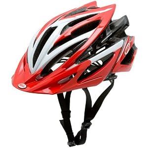 Bell Volt Bike Helmet (Red/White, Small)