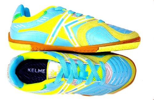 Scarpe da calcetto KELME STAR 360° INDOOR TURCHESE LIME suola michelin
