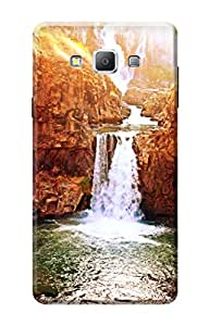 Samsung Galaxy A7 Designer Cover Kanvas Cases Premium Quality 3D Printed Lightweight Slim Matte Finish Hard Back Case for Samsung Galaxy A7