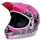 Motorradhelm Kinder Cross Helme Sturzhelm Schutzhelm Helm für Motorrad Kinderquad