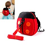 HugBaby BABY TODDLER SAFETY HARNESS BACKPACK STRAP LADYBIRD BAG WALKER REIN